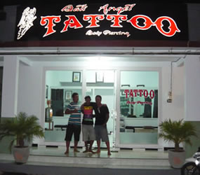 Bali Angel Tattoo Seminyak Bali
